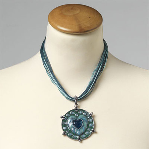 Turquoise ketting (1)